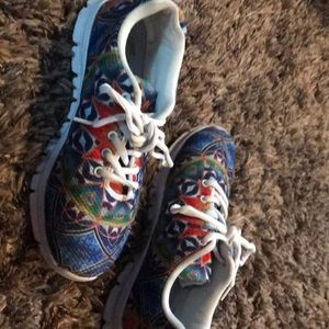 Shoes - Amazing trippy psychedelic comfy sneakers